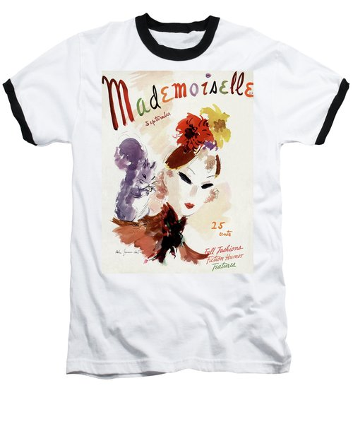Mademoiselle Cover Featuring A Woman Baseball T-Shirt