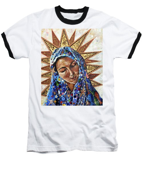 Madonna Of The Dispossessed Baseball T-Shirt