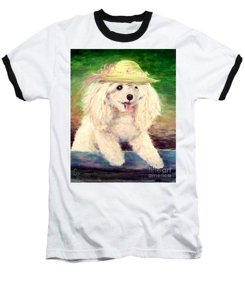 Maggie   Straw Hat Baseball T-Shirt