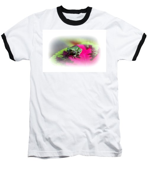 Magic Carpet Coleus Leaf Baseball T-Shirt