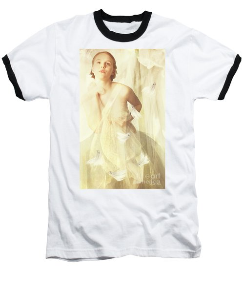 Magnolia Belle Baseball T-Shirt