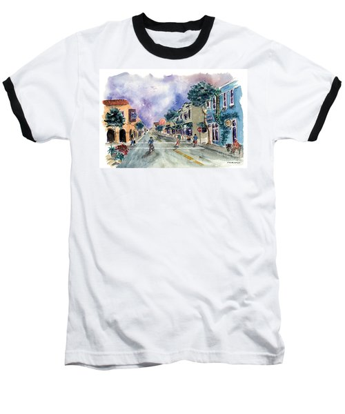 Main Street Half Moon Bay Baseball T-Shirt