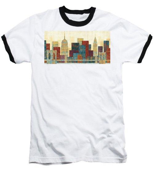 Majestic City Baseball T-Shirt by Michael Mullan
