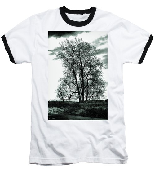 Baseball T-Shirt featuring the photograph Majesty by Lauren Radke