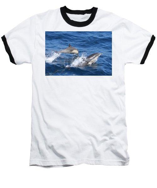 Make A Splash Baseball T-Shirt by Shoal Hollingsworth