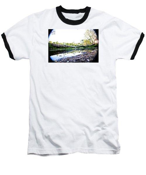 Man Down Baseball T-Shirt by Joel Loftus