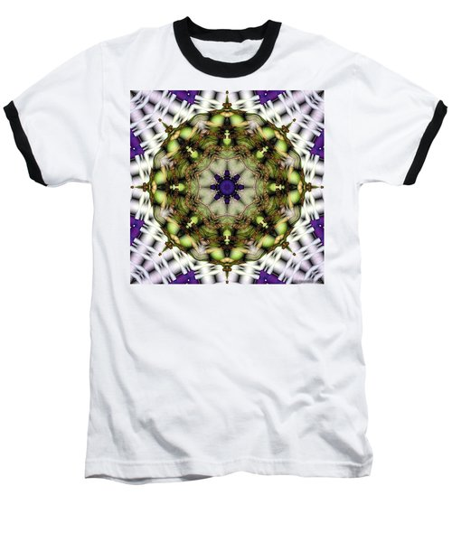 Baseball T-Shirt featuring the digital art Mandala 21 by Terry Reynoldson