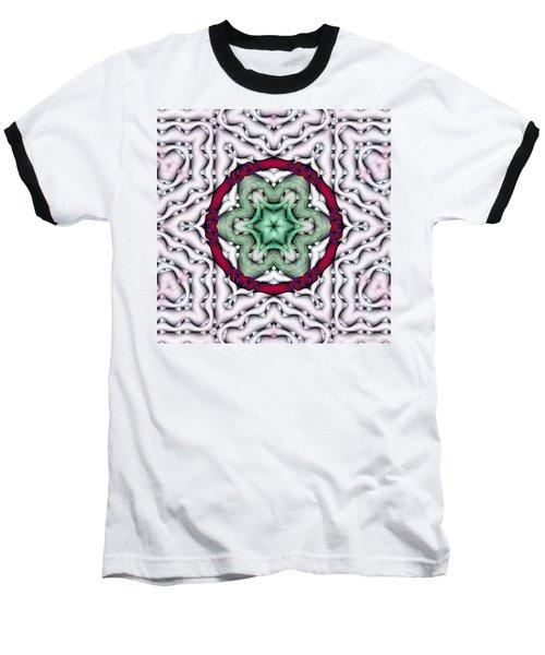 Baseball T-Shirt featuring the photograph Mandala 7 by Terry Reynoldson