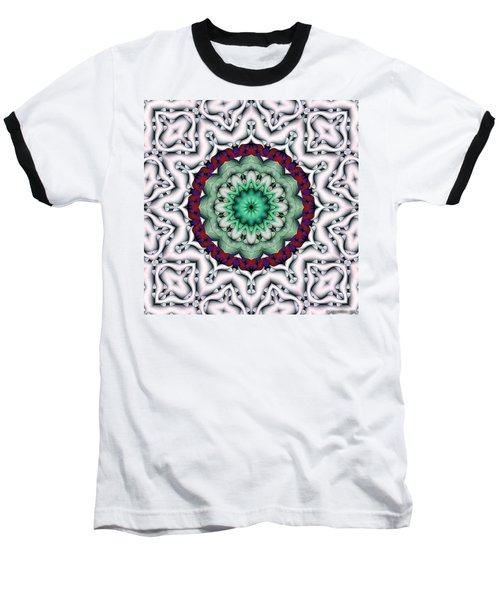 Baseball T-Shirt featuring the digital art Mandala 8 by Terry Reynoldson