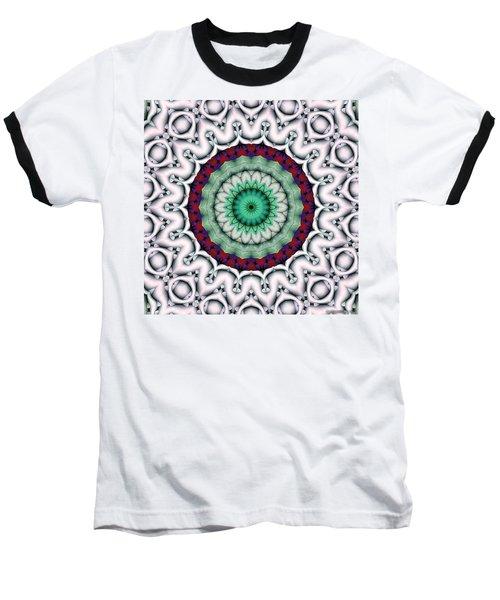 Baseball T-Shirt featuring the digital art Mandala 9 by Terry Reynoldson