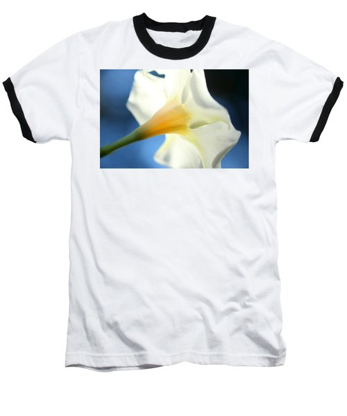 Baseball T-Shirt featuring the photograph Mandevilla by Greg Allore