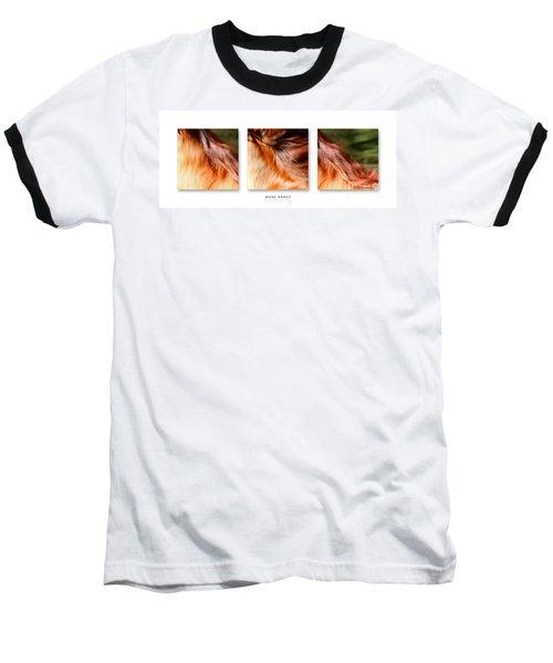 Mane Dance Triptych Baseball T-Shirt