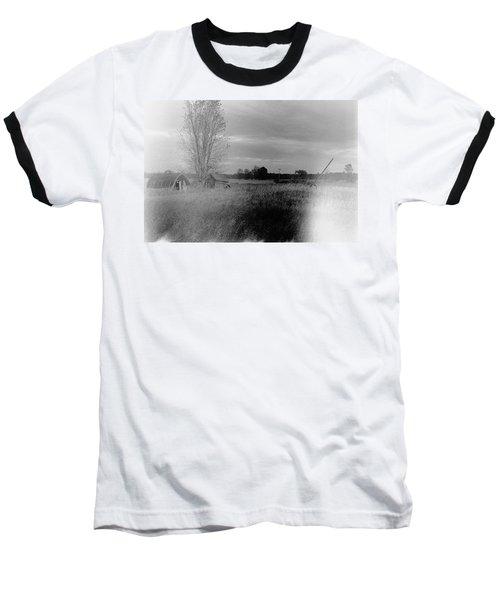 Baseball T-Shirt featuring the photograph Maple Ridge Rd Farm by Daniel Thompson