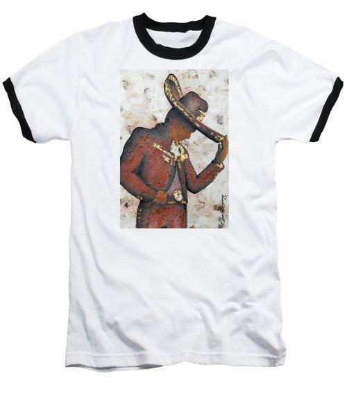 Mariachi  II Baseball T-Shirt by J- J- Espinoza