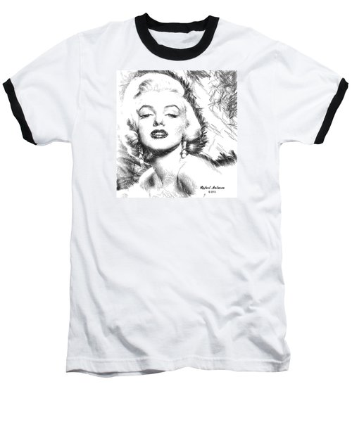 Marilyn Monroe - The One And Only  Baseball T-Shirt
