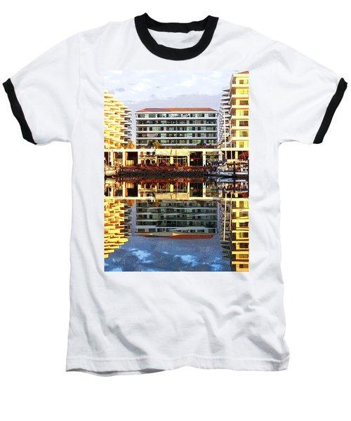 Marina Mazatlan Mirror Baseball T-Shirt