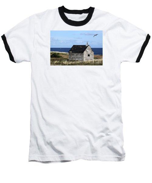 Maritime Cottage Baseball T-Shirt