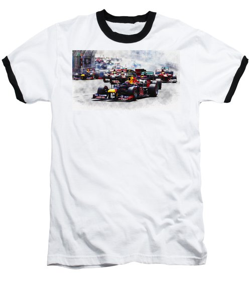 Mark Webber Baseball T-Shirt