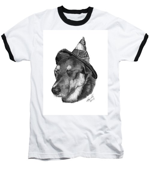 Marlee In Witch's Hat -021 Baseball T-Shirt