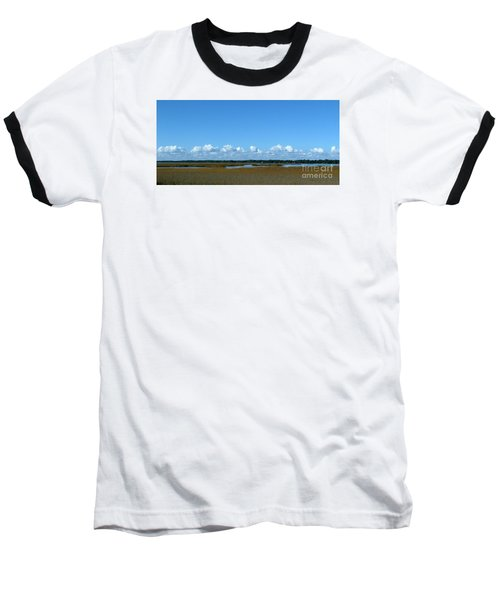 Marsh In Panacea Florida Baseball T-Shirt