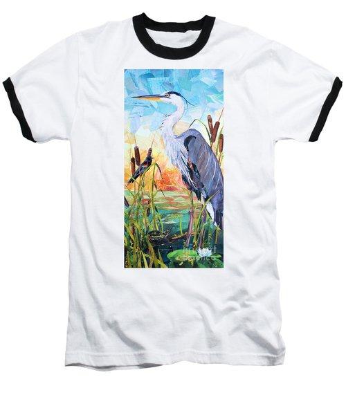 Marshland Moring Baseball T-Shirt