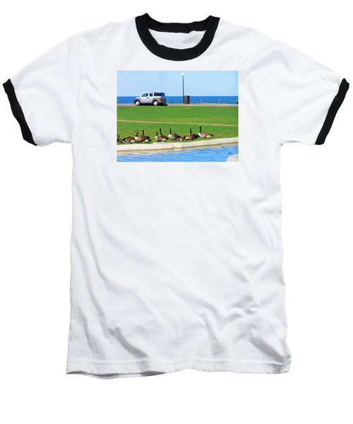 Martha Vineyard Baseball T-Shirt by Oleg Zavarzin