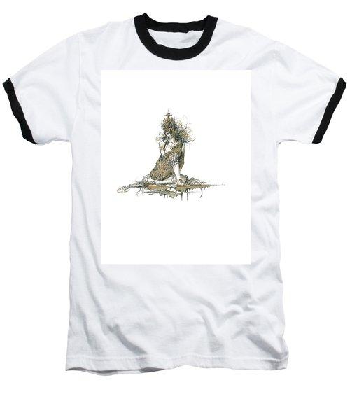Wanita Baseball T-Shirt by Julio Lopez