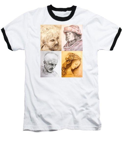 Master Studies Baseball T-Shirt by Loretta Luglio