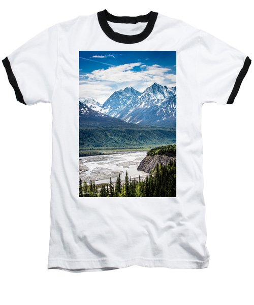 Matanuska River  Baseball T-Shirt