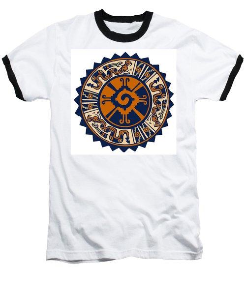 Mayan Hunab Ku Baseball T-Shirt