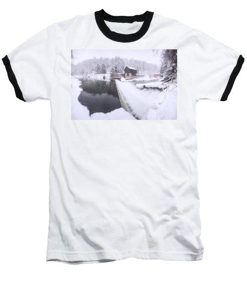 Mcconnell's Mill Winter  Baseball T-Shirt
