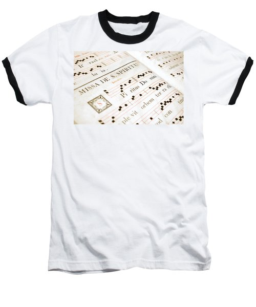 Mediavel Chorus Book  Baseball T-Shirt