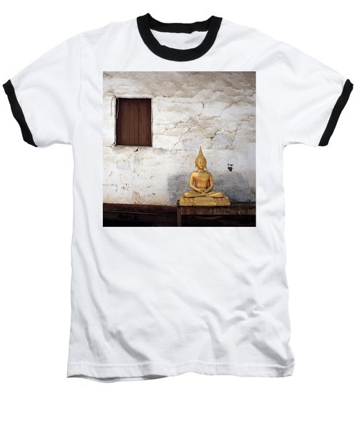 Meditation In Laos Baseball T-Shirt