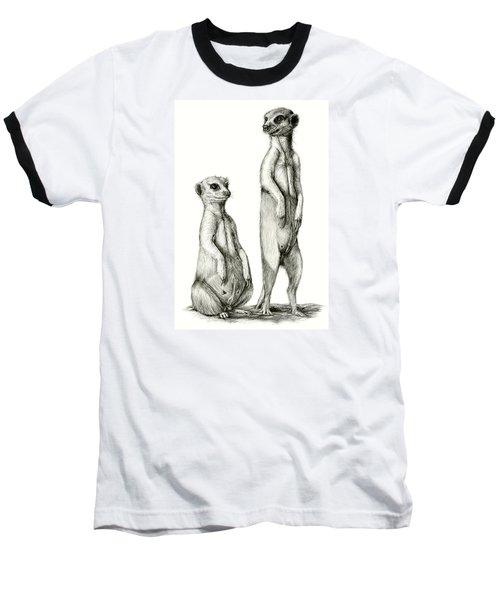 Meerkatte Baseball T-Shirt