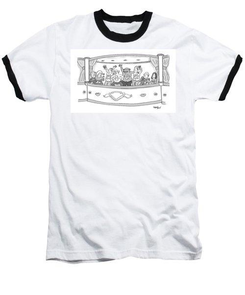 Men At The Opera Baseball T-Shirt