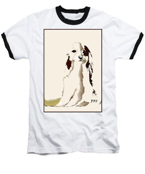 Mercedes  - Our Cavalier King Charles Spaniel  No. 9 Baseball T-Shirt