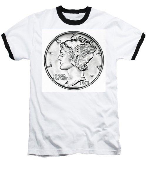 Mercury Baseball T-Shirt by Fred Larucci