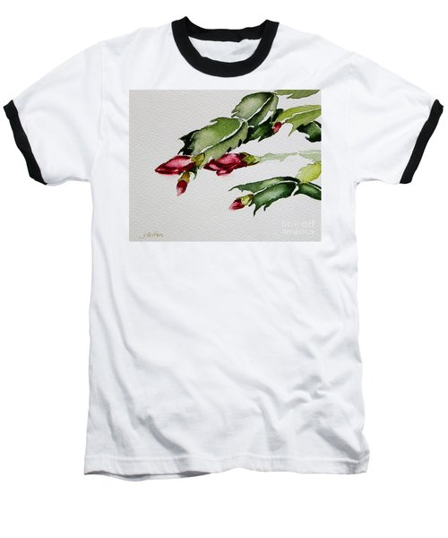 Merry Christmas Cactus 2013 Baseball T-Shirt