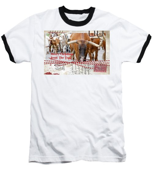 Merry Christmas From The Trail Baseball T-Shirt