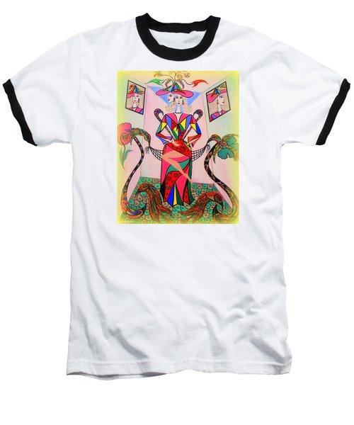 Eleonore Sweet 16th Baseball T-Shirt by Marie Schwarzer