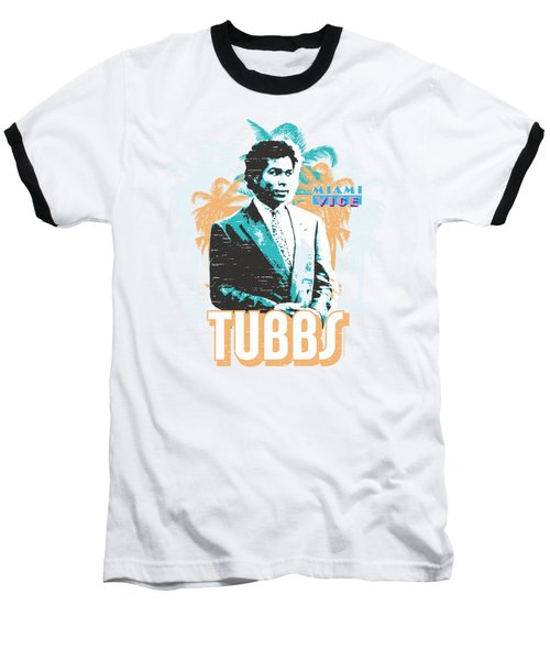 Miami Vice - Tubbs Baseball T-Shirt