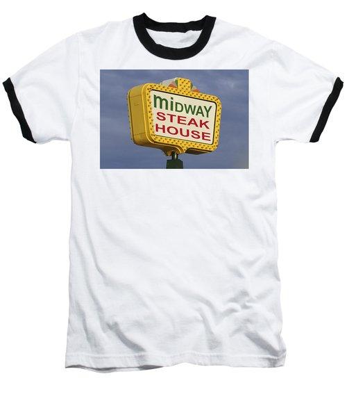 Midway Seaside Heights Boardwalk Nj Baseball T-Shirt