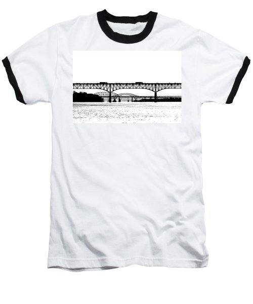 Millard Tydings Memorial Bridge Baseball T-Shirt