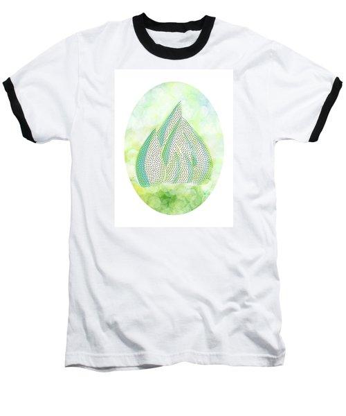 Mini Forest Illustration Baseball T-Shirt by Lenny Carter