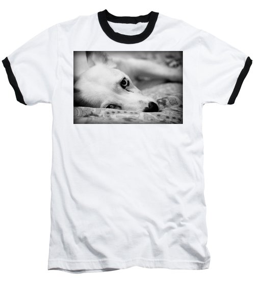 Baseball T-Shirt featuring the photograph Miss Donut  by Faith Williams