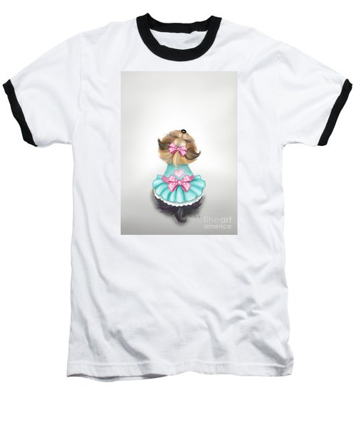 Miss Pretty Baseball T-Shirt