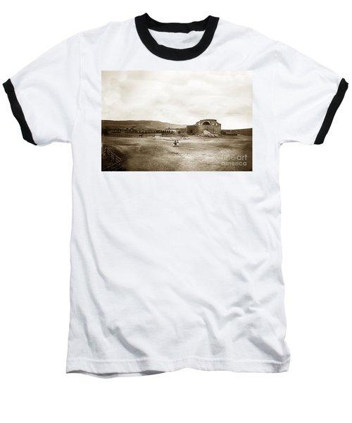 Mission San Juan Capistrano California Circa 1882 By C. E. Watkins Baseball T-Shirt