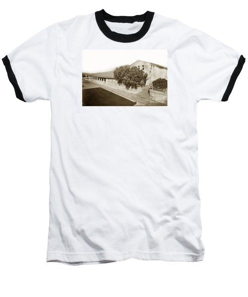 Mission San Luis Obispo De Tolosa California 1880  Baseball T-Shirt by California Views Mr Pat Hathaway Archives