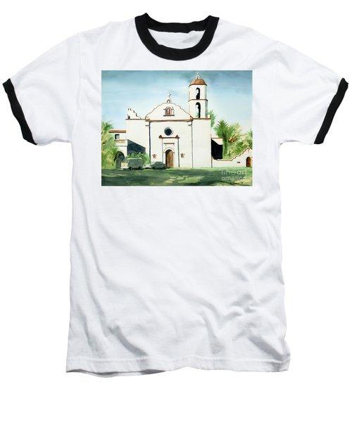 Mission San Luis Rey Colorful II Baseball T-Shirt