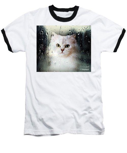 Mistletoe In The Window Baseball T-Shirt